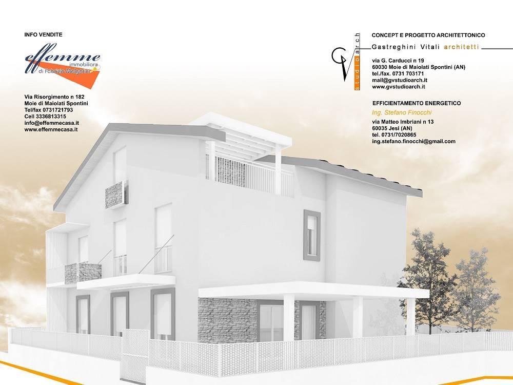 Appartamento, Maiolati Spontini, ristrutturato