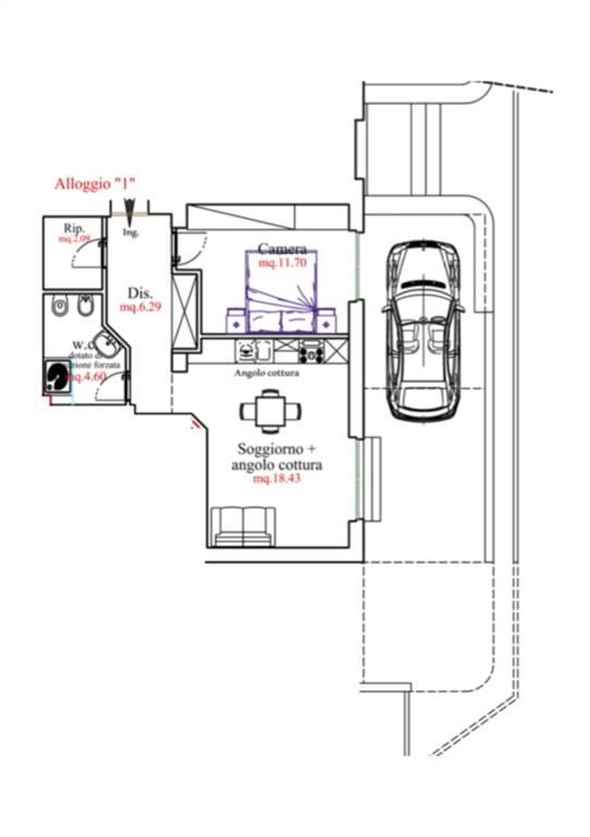 Appartamento in vendita a Laigueglia, 2 locali, zona Località: ZONA COMUNE, prezzo € 280.000 | PortaleAgenzieImmobiliari.it