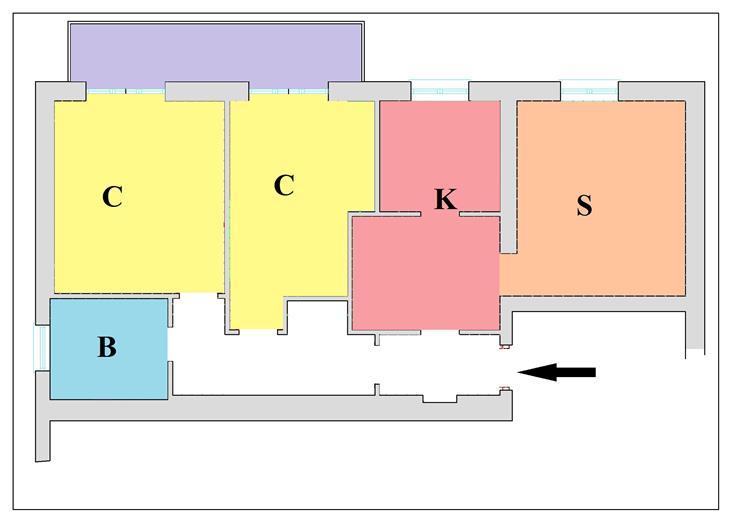 Bilocale, Semicentrale, Latina, ristrutturato
