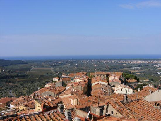 Vista da Castagneto Carducci