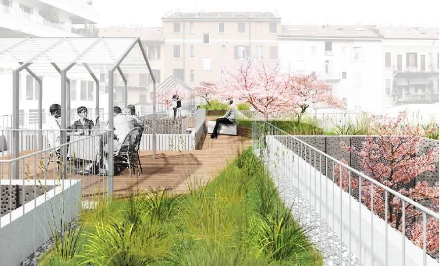 Attico in Via Marghera 43, De Angeli, Vercelli, Washinghton, Milano