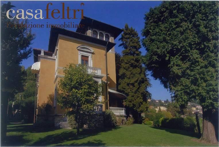 Villa in Borgo Canale 35, Città Alta, Bergamo
