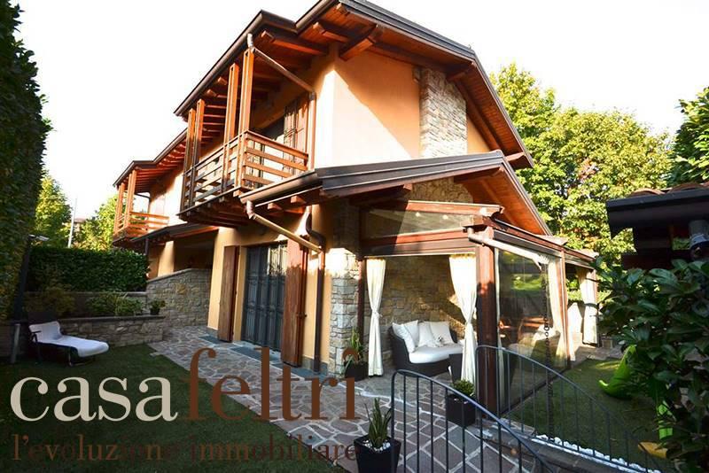 Villa in Via Marie Curie 18, Centrale, Bergamo