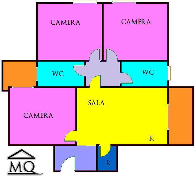Quadrilocale in Viale Dei Pentri in zona Semicentro a Isernia