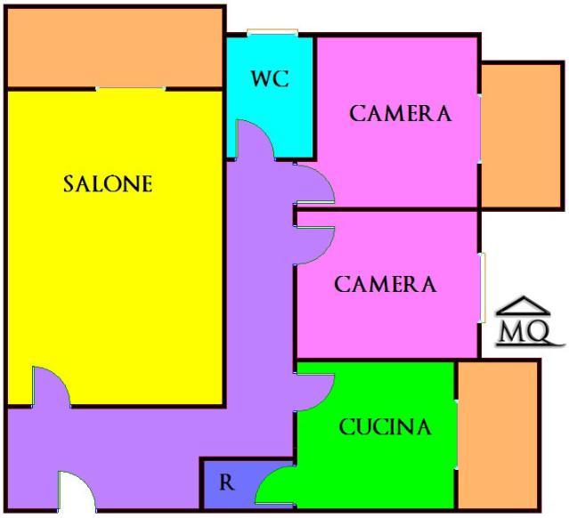 Trilocale in Via Giovanni Xxiii in zona Centro a Isernia