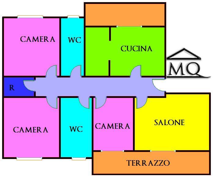 Quadrilocale in Via Latina in zona Centro a Isernia