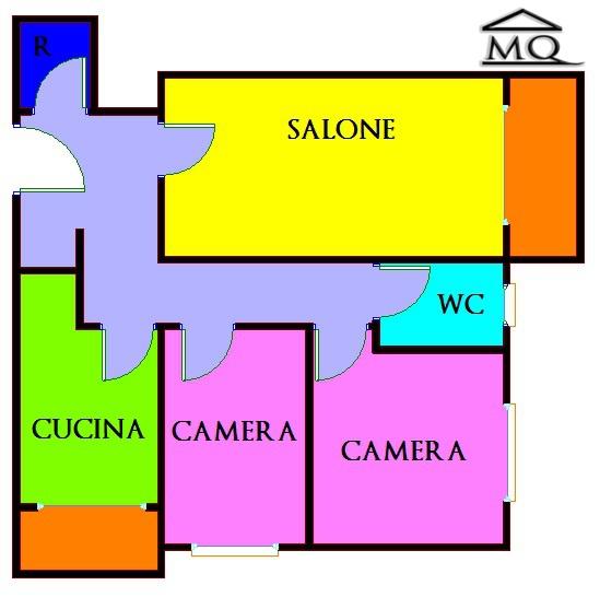 Trilocale in Via Libero Testa 243 in zona Centro a Isernia