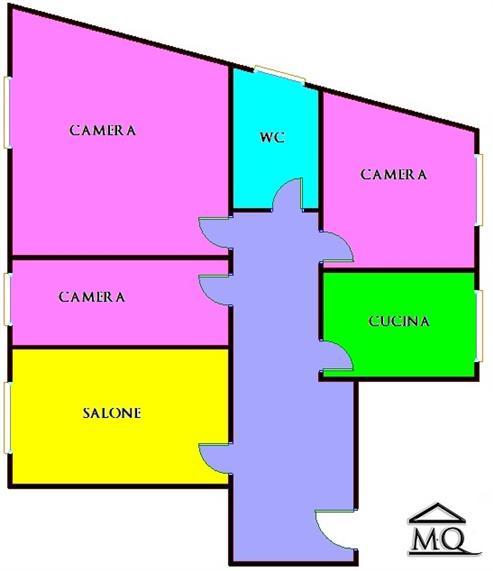 Quadrilocale in Via Pio la Torre 1 in zona Centro a Isernia