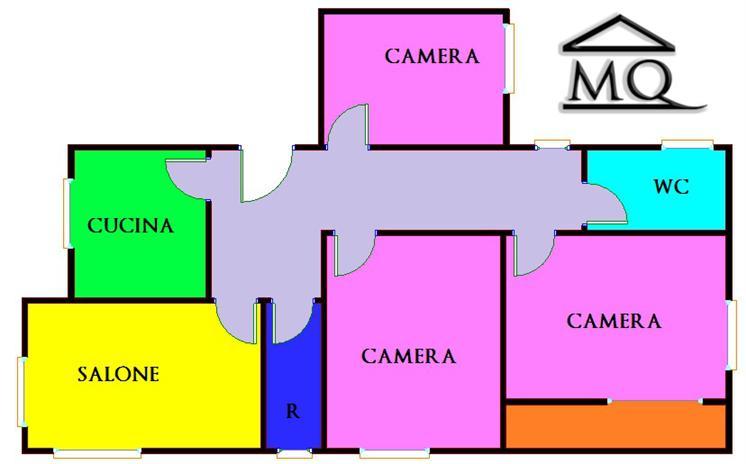 Quadrilocale abitabile in zona Centro a Isernia
