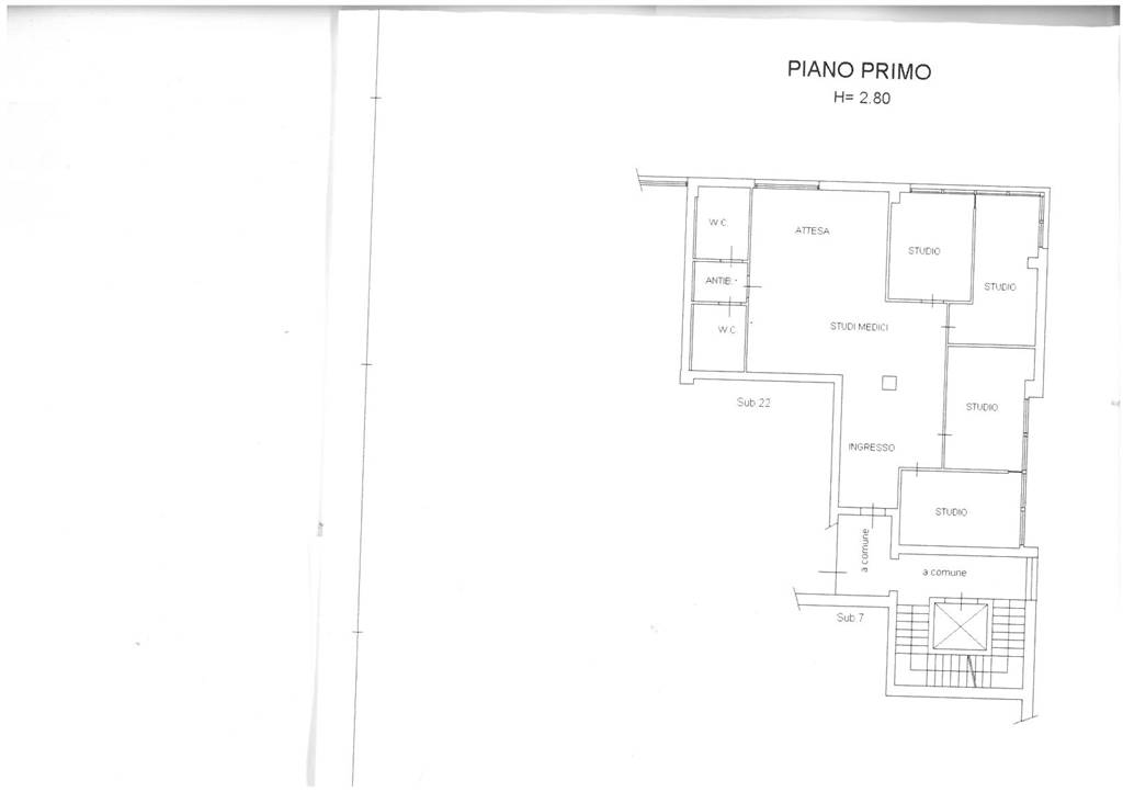 Ufficio / Studio in vendita a Agliana, 5 locali, prezzo € 334.000 | CambioCasa.it