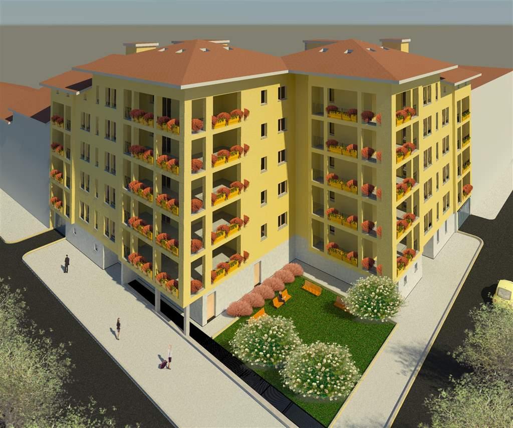 Mansarda, P.ta Genova, Romolo, Solari, Milano, in nuova costruzione