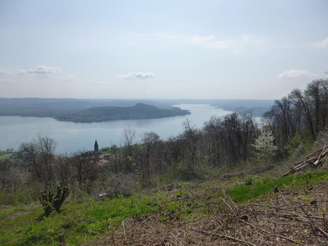 vista lago verso Arona