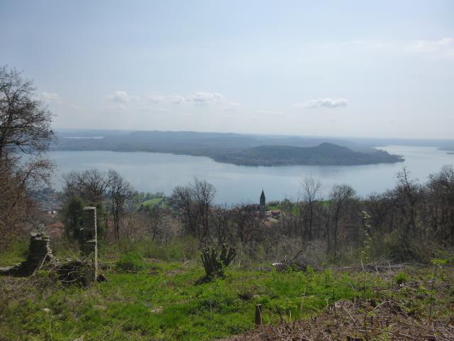 vista lago a 180°