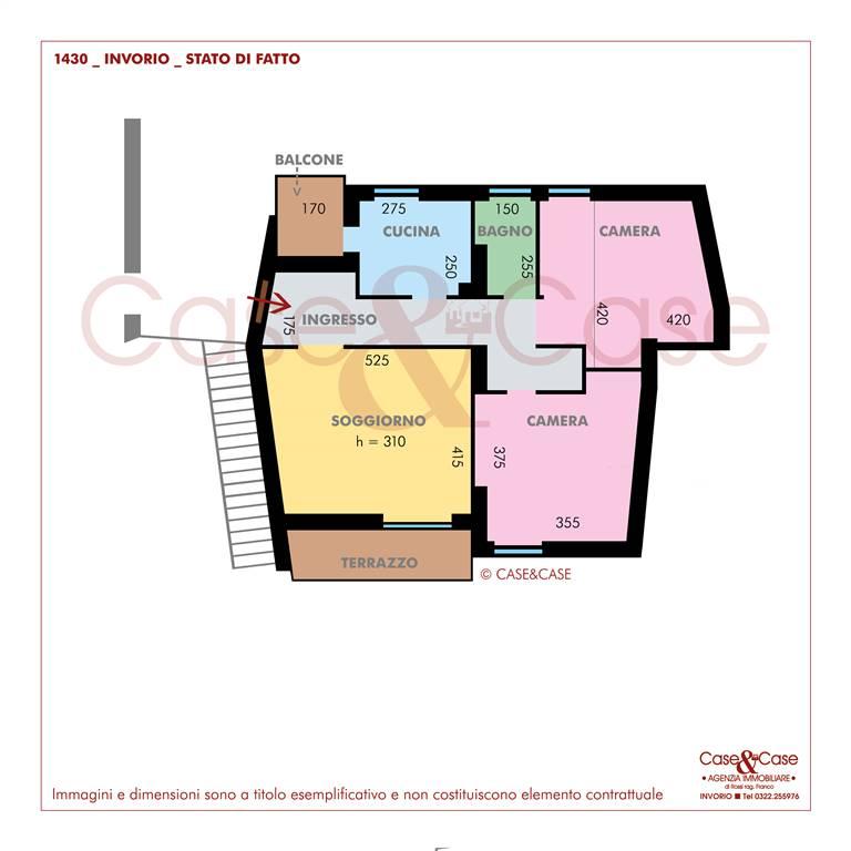 Appartamento in vendita a Invorio, 3 locali, prezzo € 73.000 | PortaleAgenzieImmobiliari.it