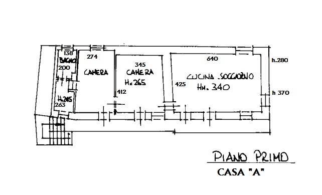 Casa A - piano primo - abitazione
