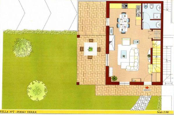 Villa, Fano, in nuova costruzione