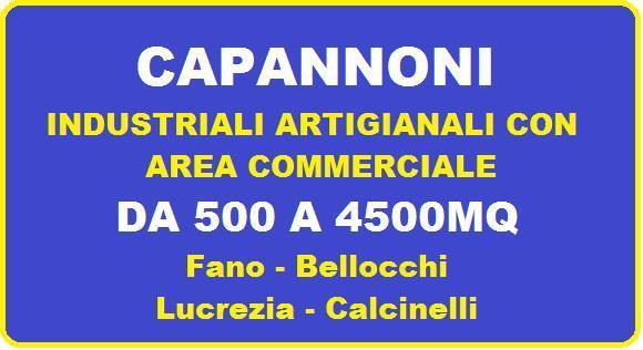Capannone industriale, Fano