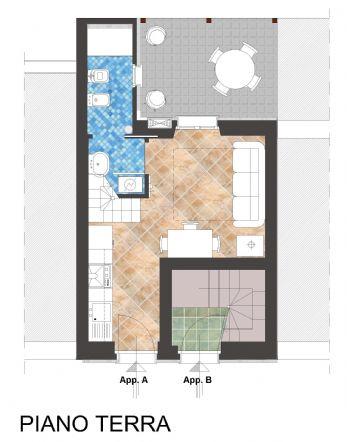 Terratetto, Fano, in nuova costruzione