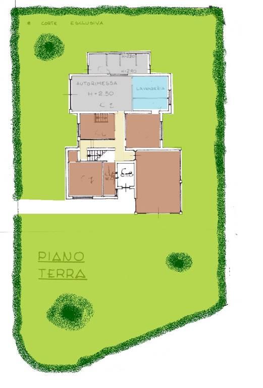 Villa, Calcinelli, Saltara, abitabile