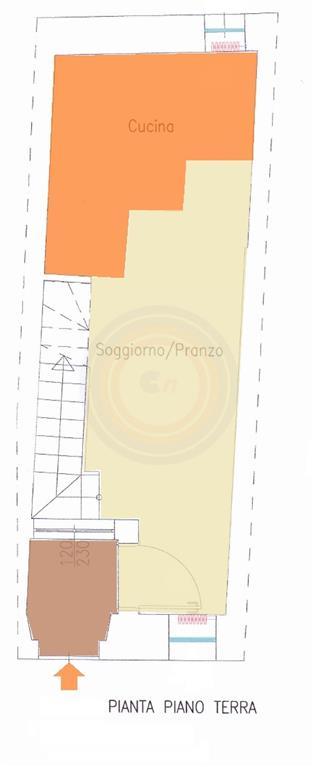 Terratetto, Fano, ristrutturato