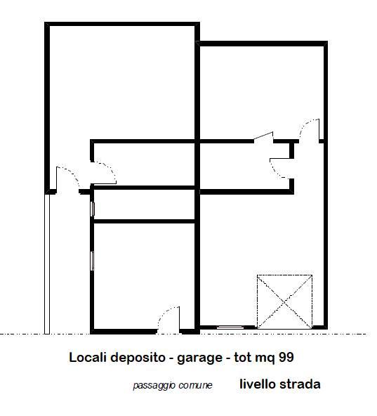 Locali deposito e garage