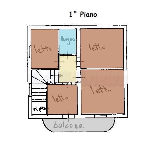 Planimetria attuale piano primo