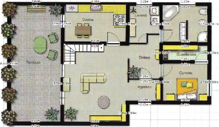 CERNUSCO SUL NAVIGLIO, Appartamento in vendita di 260 Mq, Ottime condizioni, Riscaldamento Autonomo, Classe energetica: G, Epi: 227,96 kwh/m2 anno,