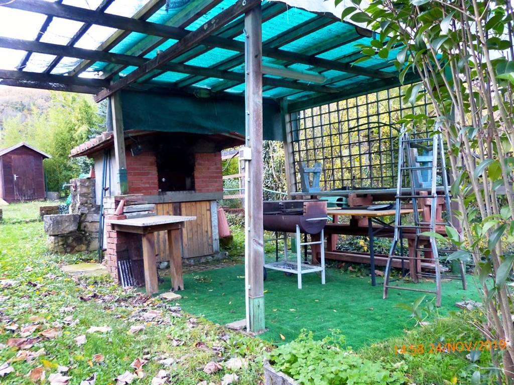forno a legna in giardino