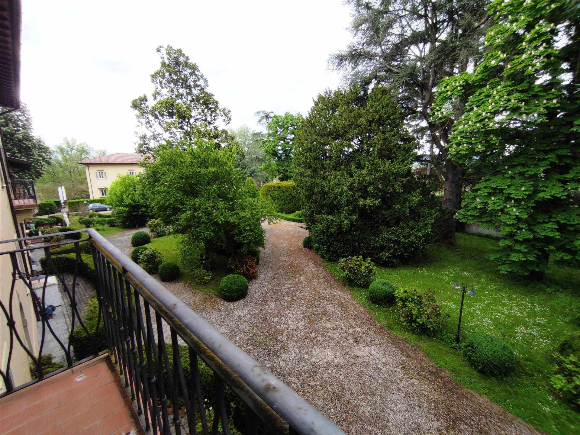 balcone privato e parco