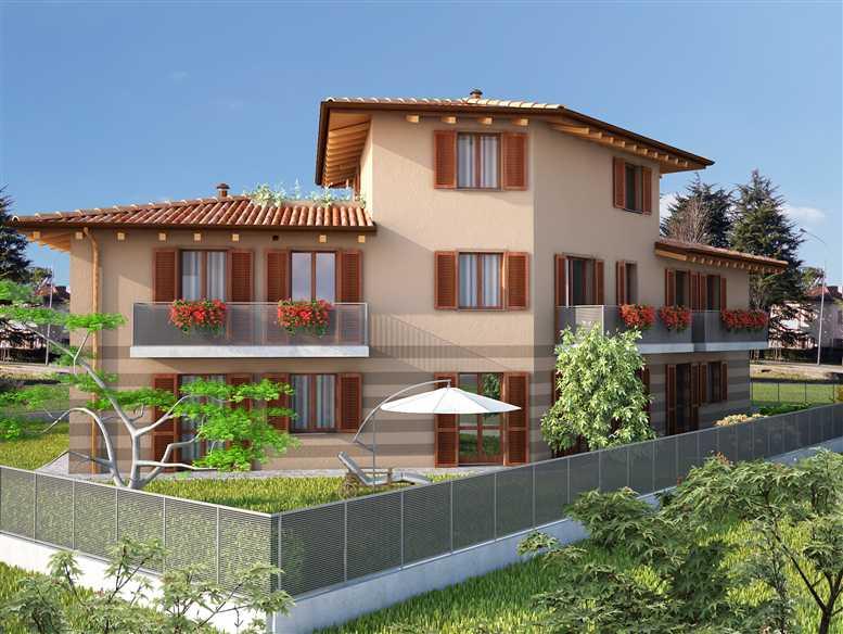 Quadrilocale, Crespi D'adda, Capriate San Gervasio, in nuova costruzione