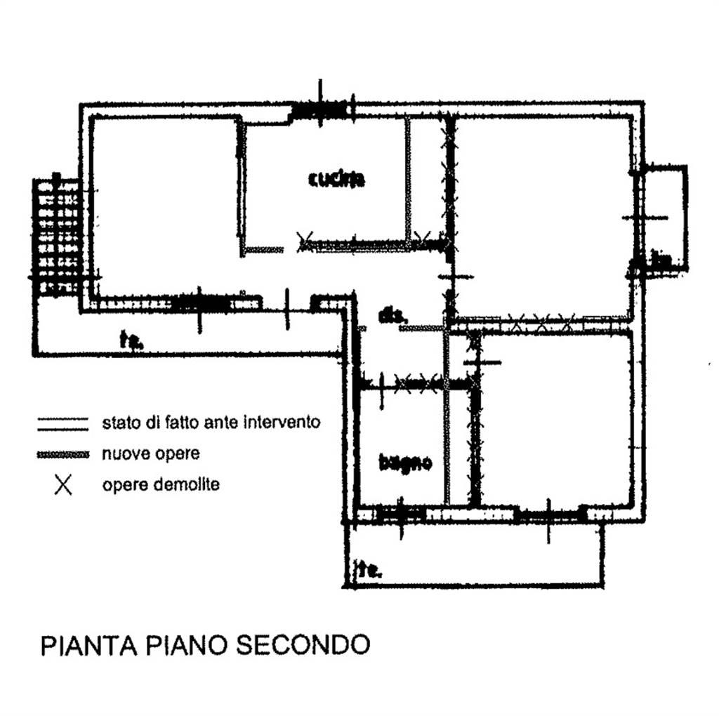 Trilocale in Via Leonardo Da Vinci 29, Nembro