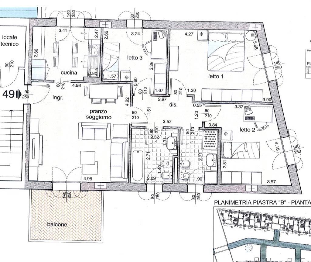 Appartamento, Livorno, in nuova costruzione
