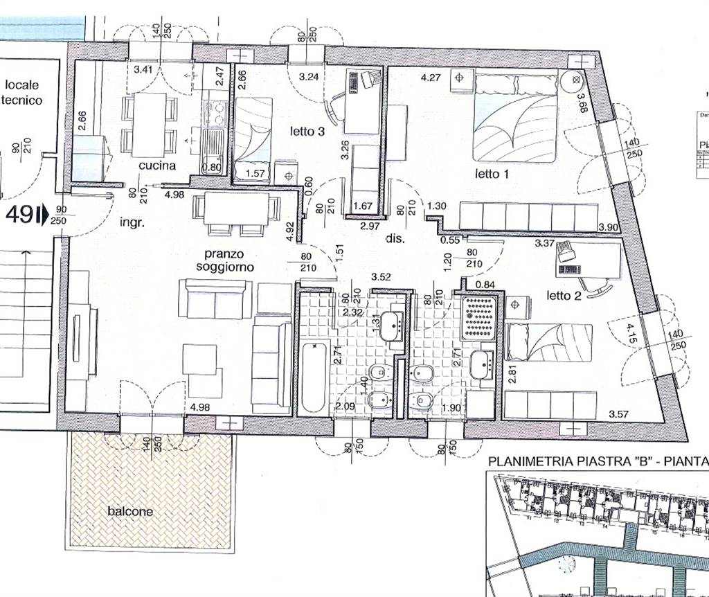 Appartamento BELLAVISTA € 337.000