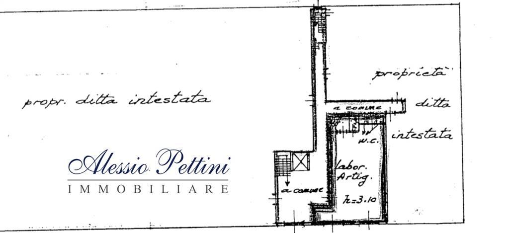 Planimetria laboratorio - Rif. 164FG