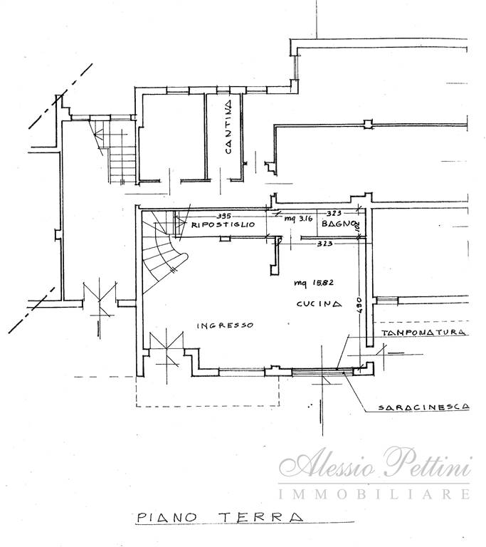 Planimetria - Rif. 3052G