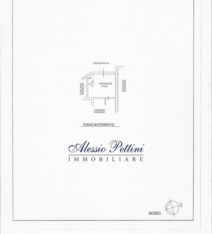 Planimetria box - Rif. 3127G