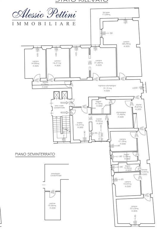 Planimetria - Rif. 3131G