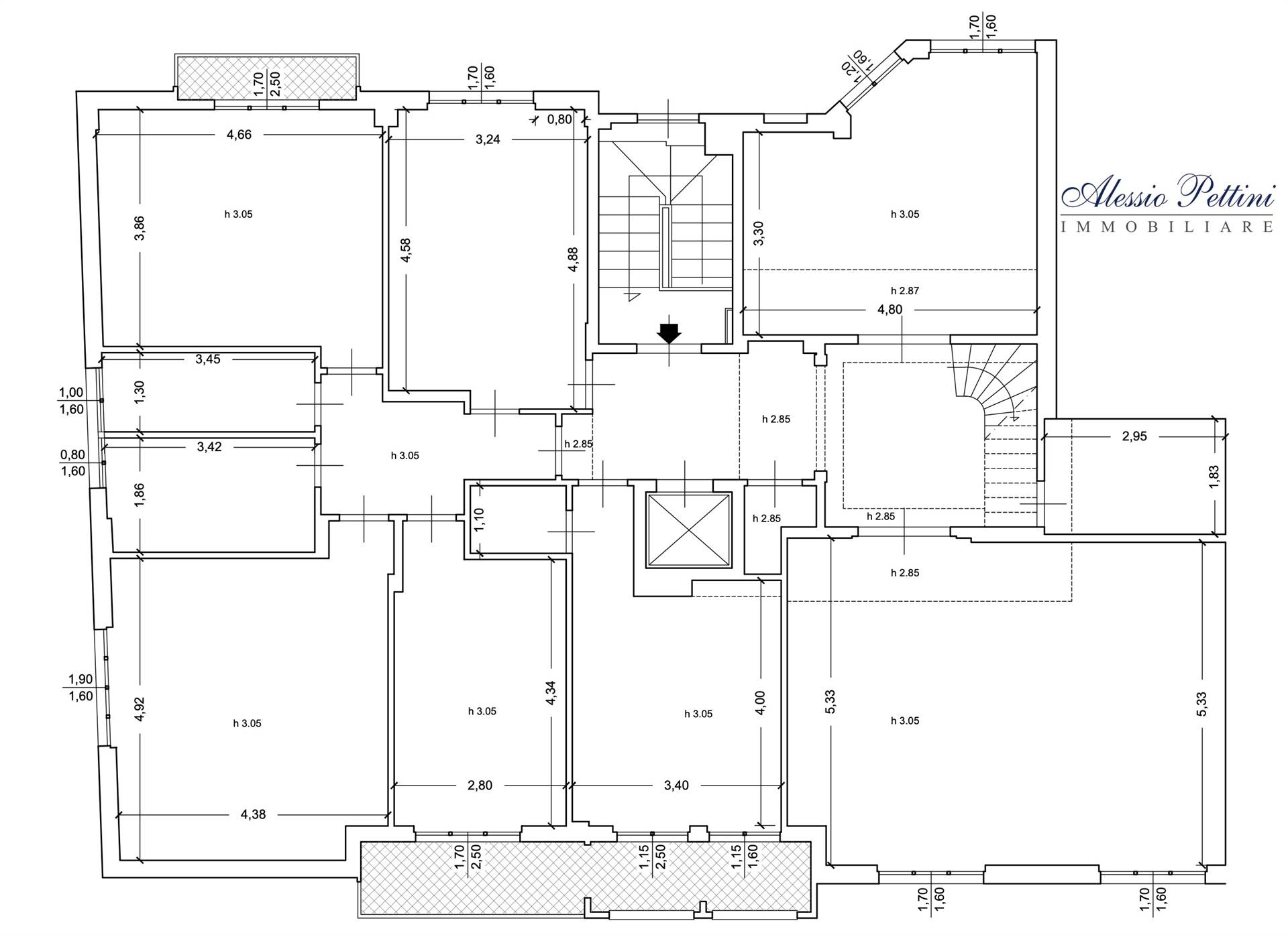 Planimetria  - Rif. 3188G