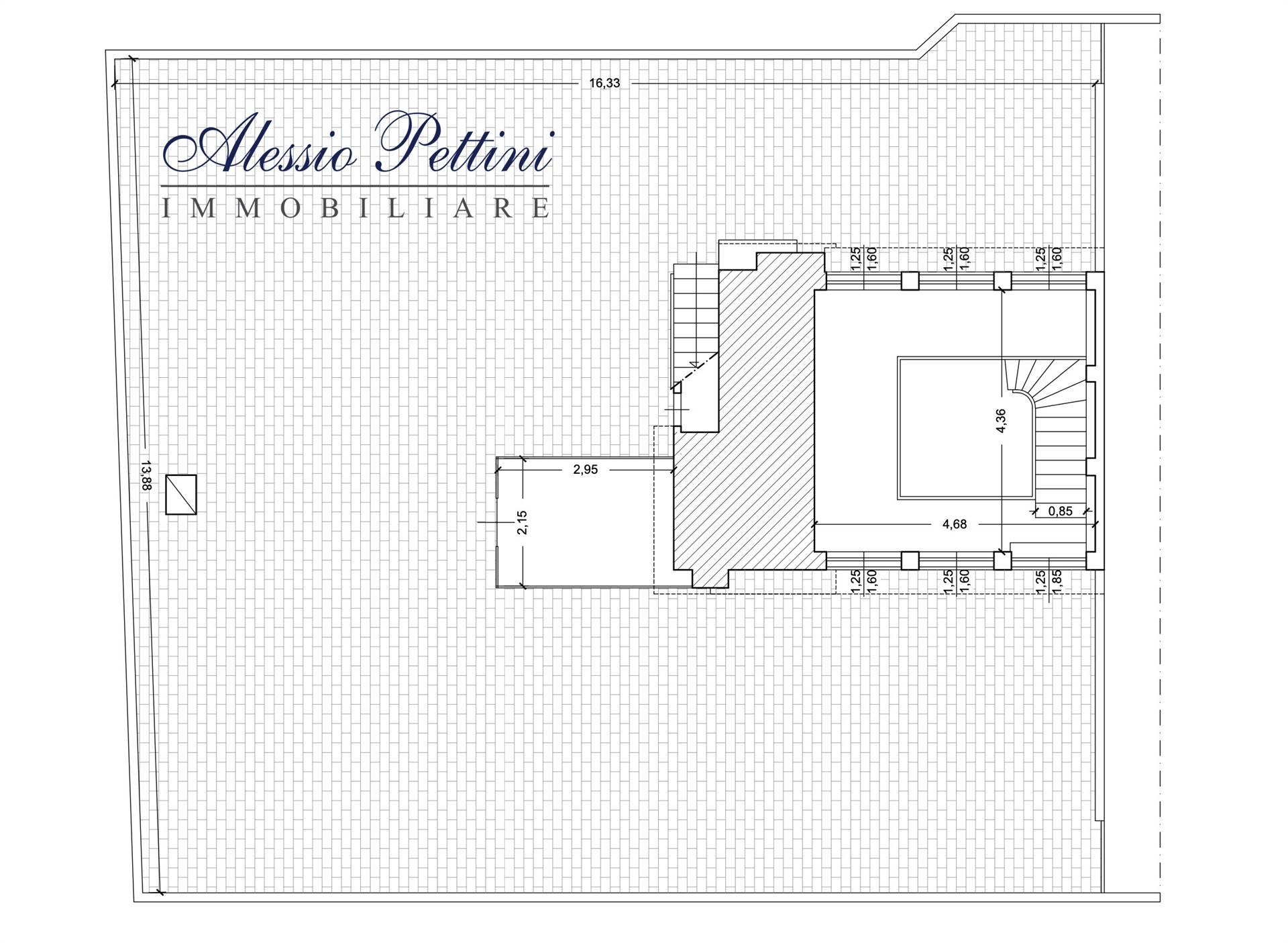 Planimetria lastrico 1 - Rif. 3188G