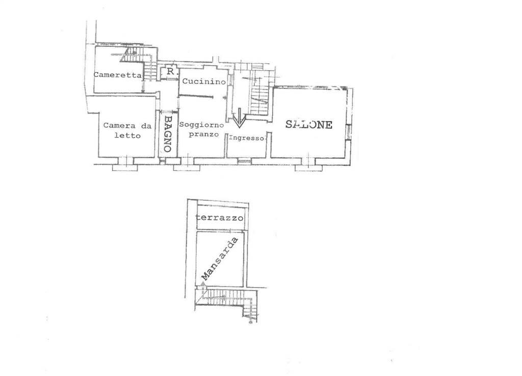 Appartamento, San Severo, da ristrutturare