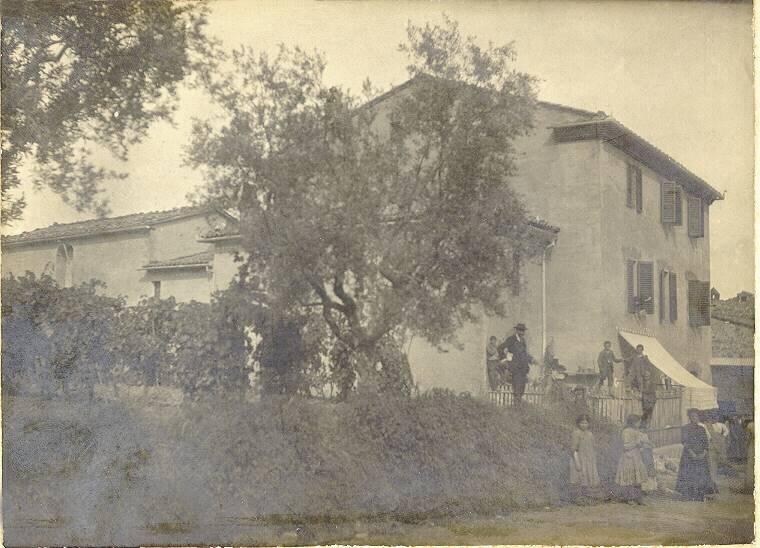 palazzo in costruzione 1900