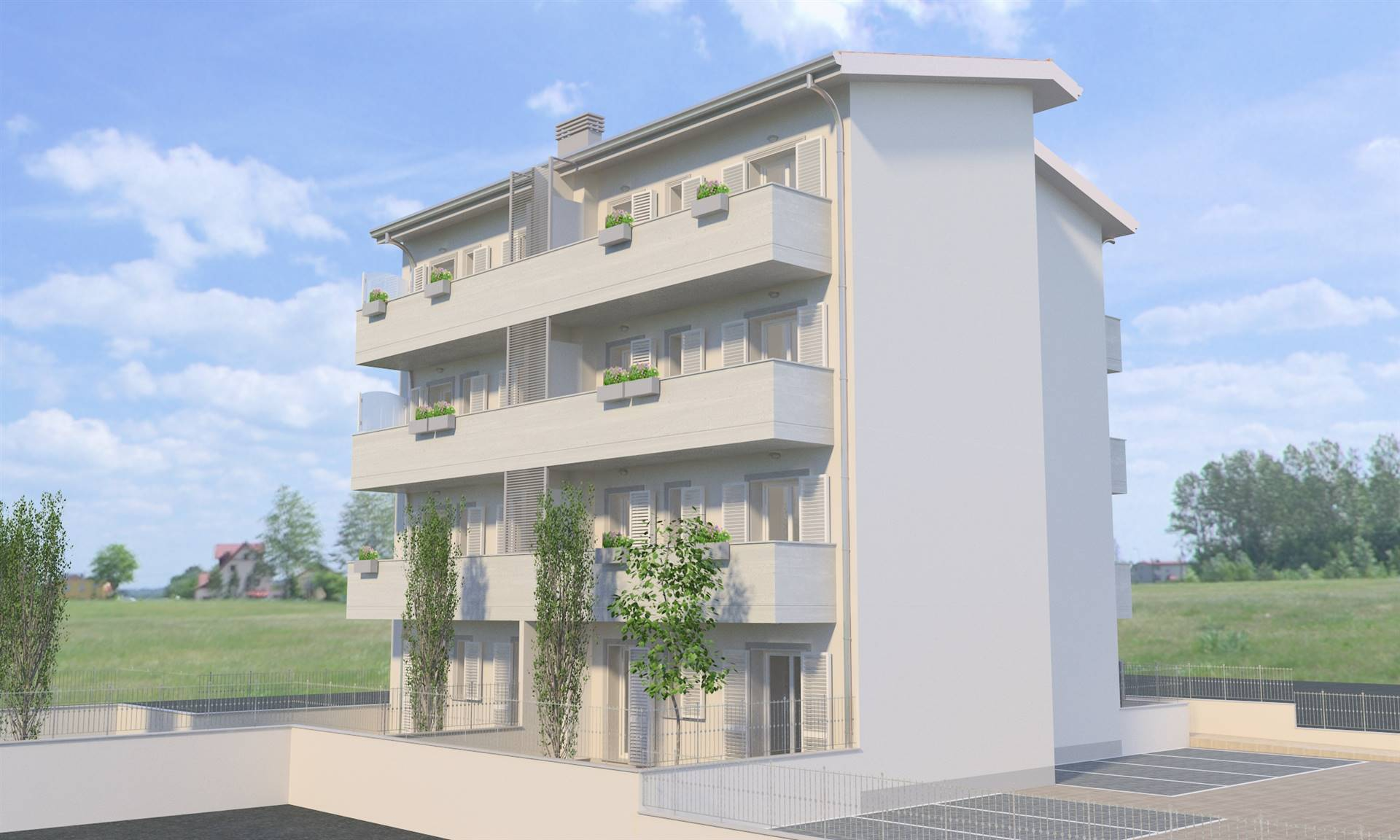 LA VILLA, CAMPI BISENZIO, Apartment for sale, New construction, Heating Individual heating system, Energetic class: A+, placed at 3° on 3, composed