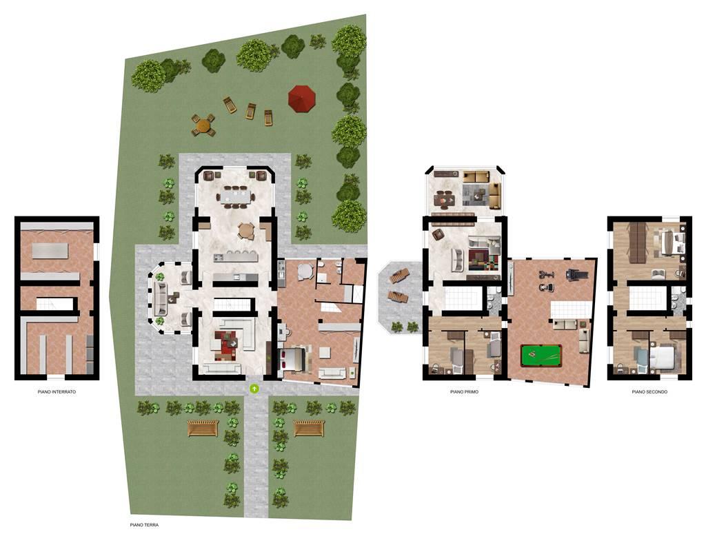 Villa in Loc. Ceresole  124, Bassano, Rivergaro