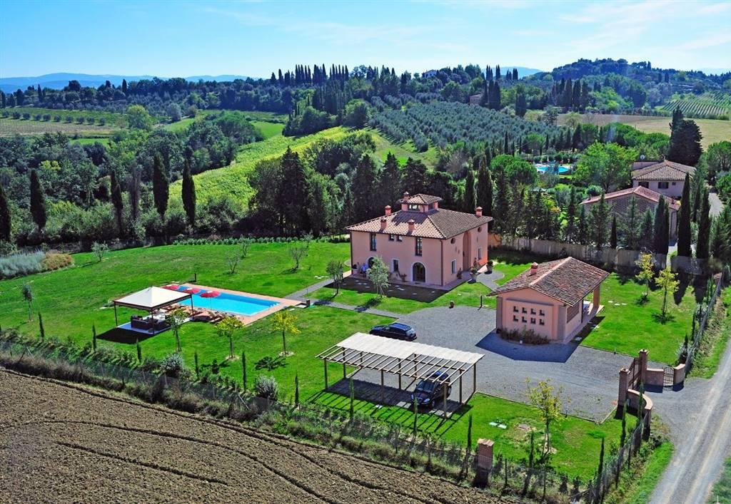 Villa, Volterra, ristrutturata