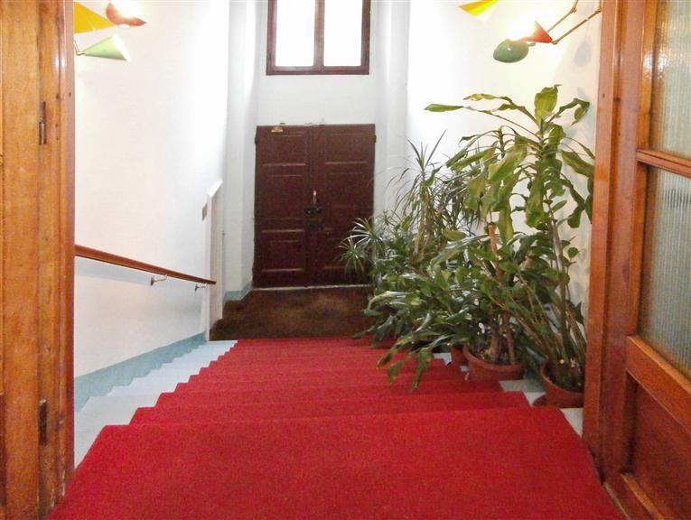scalinata di entrata