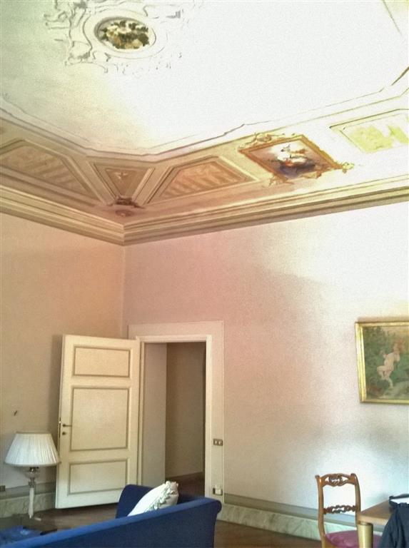 affreschi soggiorno