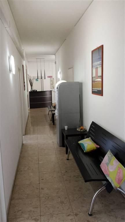 corridoio arredato