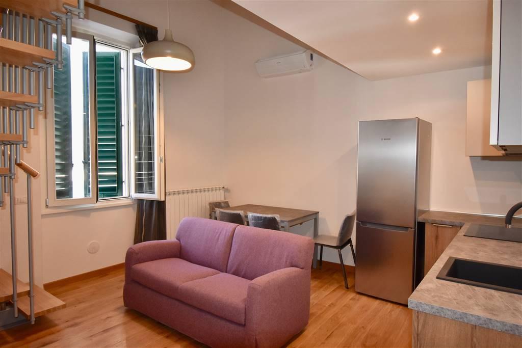 MAZZINI, FIRENZE, Appartamento in affitto di 70 Mq, Classe energetica: G, posto al piano 1° su 2, composto da: 3 Vani, Angolo cottura, Soggiorno