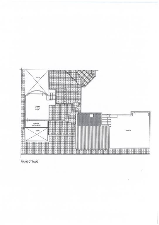 Planimetria piano 8