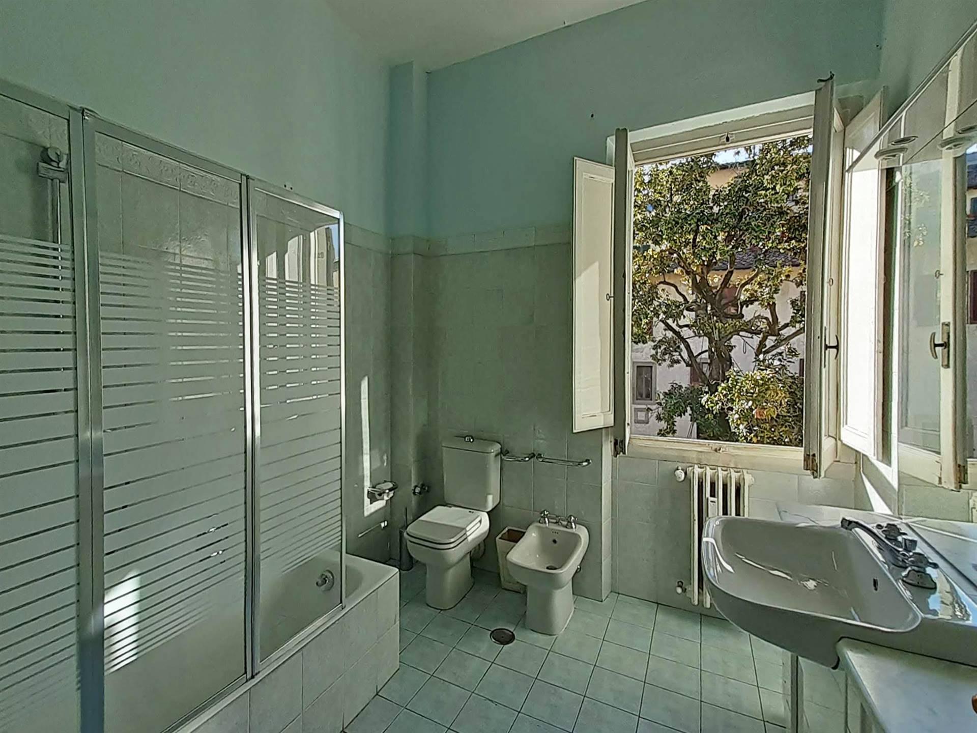 bagno grande con vasca e doccia